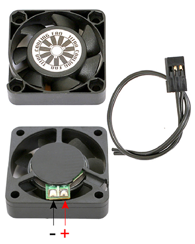 TiTan H.V Motor cooling fan 40x40 Type-ST