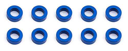 Associated BallStud washers 5.5x2.0mm Blue (10)