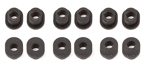 Associated RC12R6 Track Width Bushings