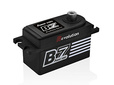 Power HD B7 Revolution HV Low profile servo