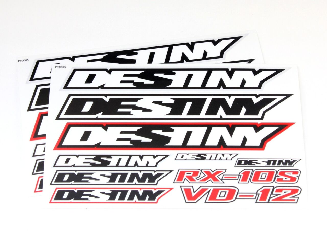 Destiny RX-10s Decal Sheet 2pcs