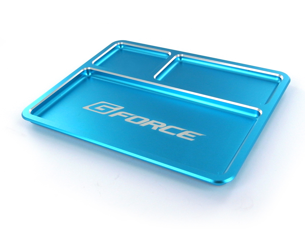 GForce Parts Tray Blue