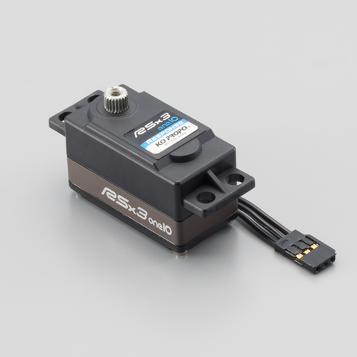 RSx3 one 10 Low Profile Digital Servo, Speed
