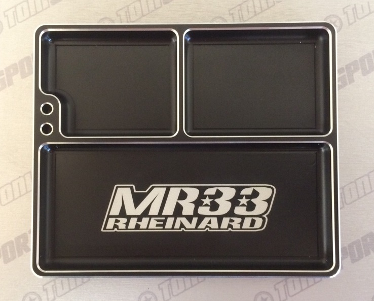 MR33 Aluminium Parts Tray