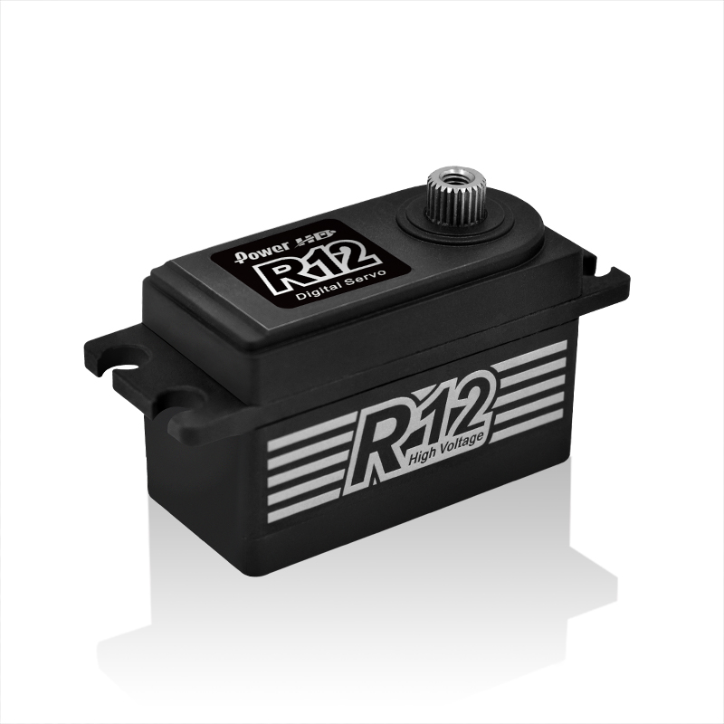 POWER HD Black R12 Servo