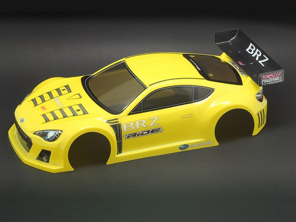 Ride Subaru BR-Z Body Pre-Painted Yellow
