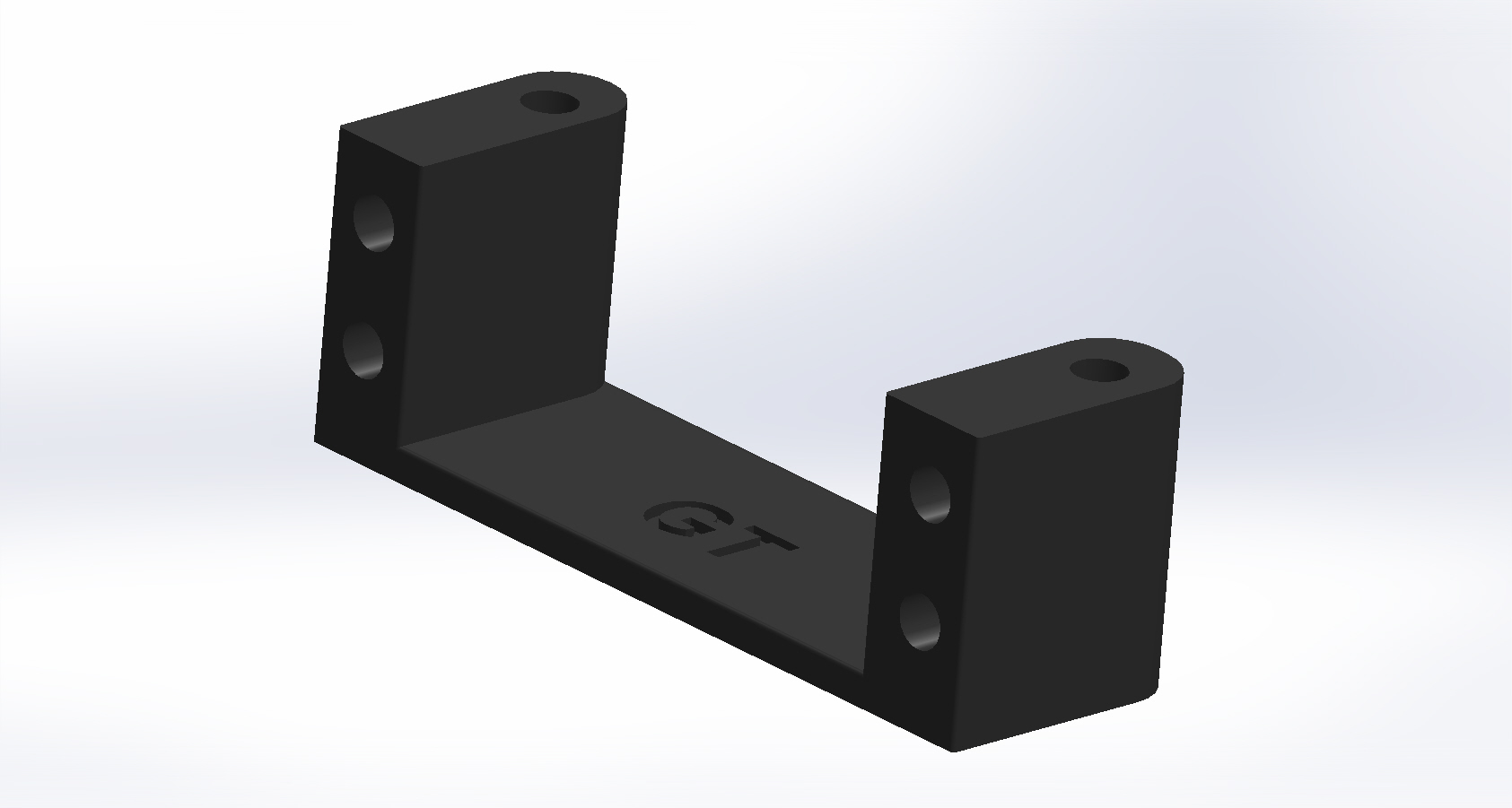 Sanwa SRG Mini Servo Mount GT Version