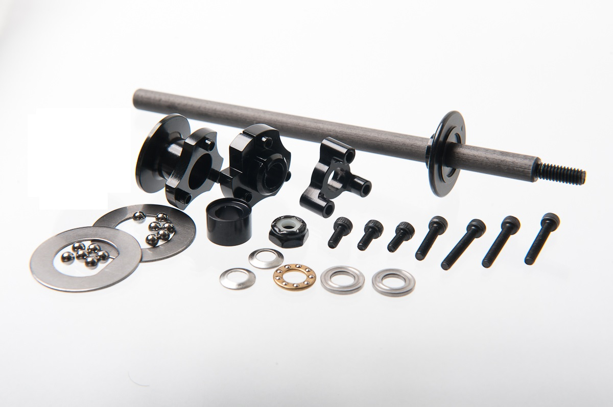 Zen Racing 1/12 Complete Rear Axle/Diff