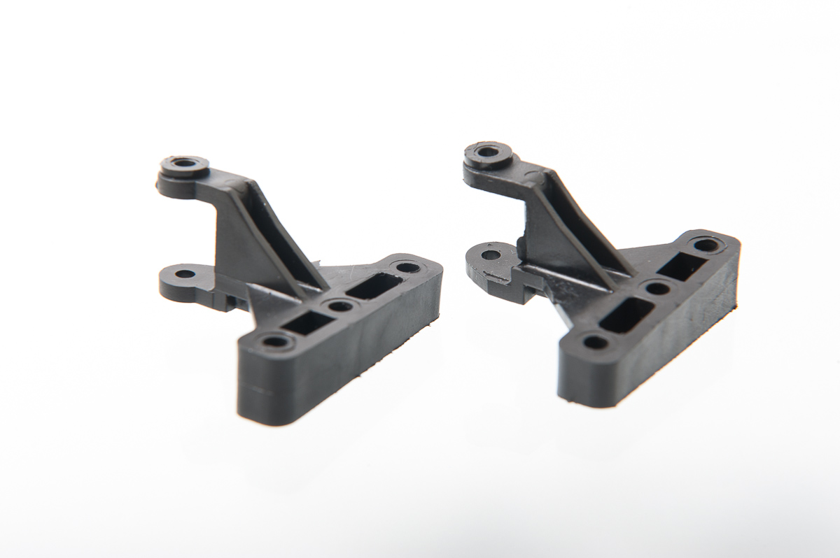 GT12 Front Machined suspension blocks 4 deg castor 2 deg camber