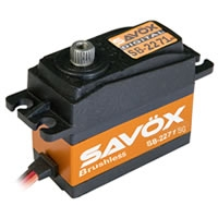 SAVOX HV DIGITAL BRUSHLESS SERVO 20KG/.065S@7.4V