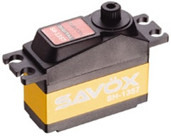 Savox Mini Coreless Digital Servo 2.5kg (1/12 servo)