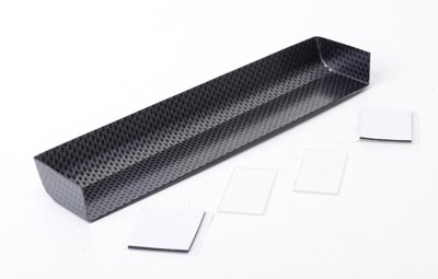 Touring Car Wing and End Plates Carbon