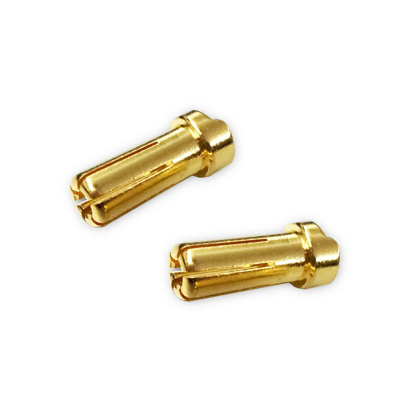 5mm Ultra Low Resistance Plug 2pcs