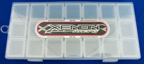 Xenon Small Plastic Case Set Type A Clear