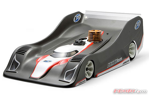 PROTOFORM P909 BODY FOR 1/8TH ON ROAD - LIGHTWEIGHT