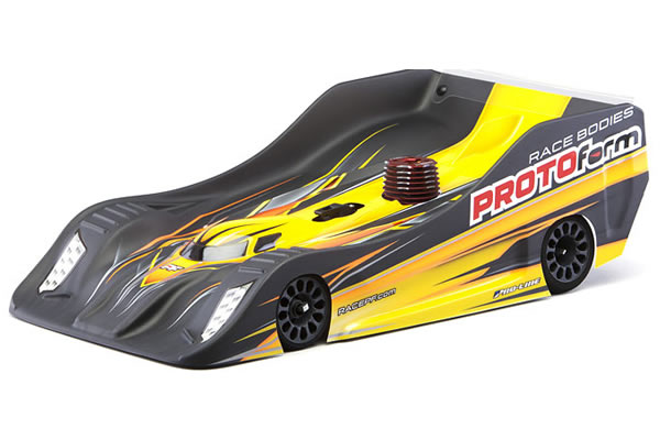 PROTOFORM PFR18 BODY FOR 1/8TH ON ROAD LIGHTWEIGHT