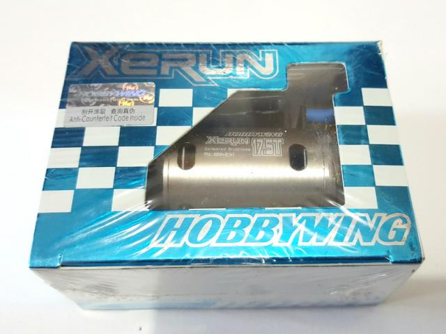 XERUN 17.5 Brushless sensored Motor GREY
