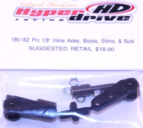 Wolfe Axle In-line Steering block kit