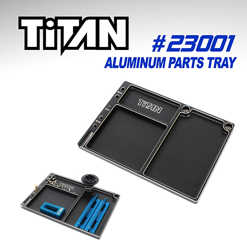 Titan Aluminium Parts Tray