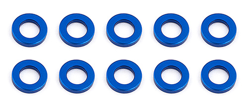 Associated BallStud washers 5.5x1.0mm Blue (10)