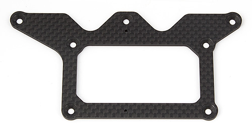 Associated RC12R6 Lower Pod Plate Graphite