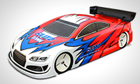 BLITZ RS5 1/10 200mm Touring Car Body 0.8mm