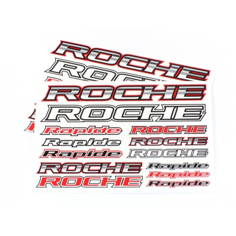 Roche Decal Sheet 2pcs