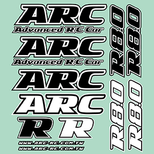ARC R8 Decals