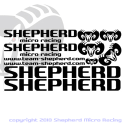 Shepherd Decals Black