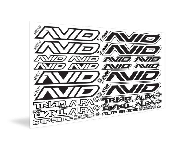 Avid Logo Decal Sheet