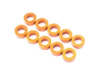 Destiny RX-10 3x5.5x1.0mm Aluminium Spacer Orange 10pcs