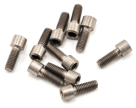 Titanium M2.5x5mm Socket Cap Screws 10pcs