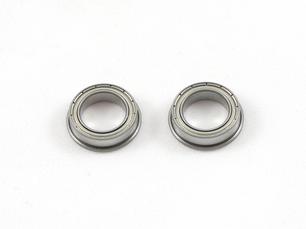 Flange Ball Bearing SP 10x15x4 2pc