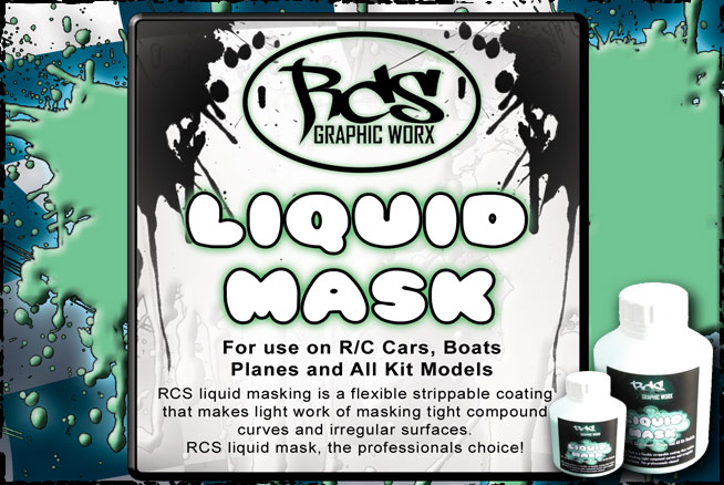 RCS Liquid Mask 4oz Bottle