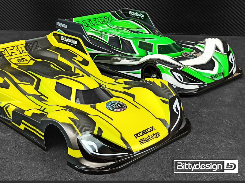 Bittydesign ROBOX 1/12 Pan-Car Lightweight Body