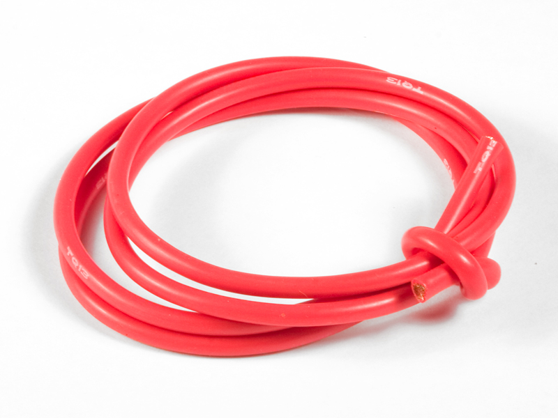TQ 3' Red 13G Wire