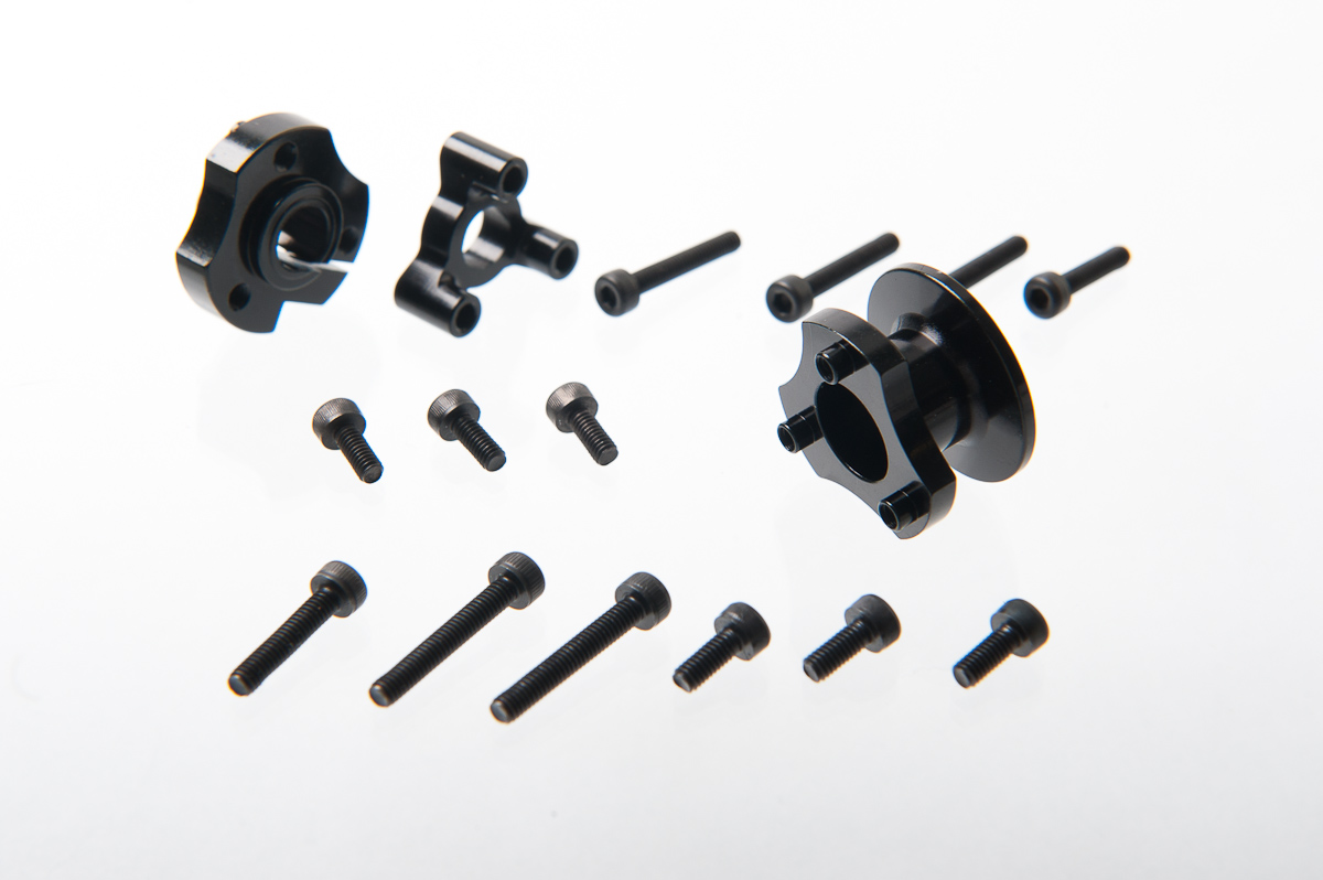 1/12 Positive Lock Diff Hub Kit