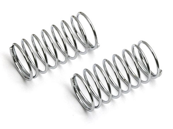 RXGT12 Long Rear Damper Spring Silver Soft 2pcs