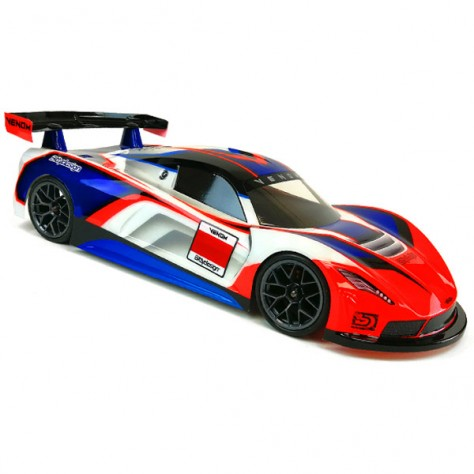 BD-GT-190VNM Bittydesign GT Venom 190mm Clear Bodyshell