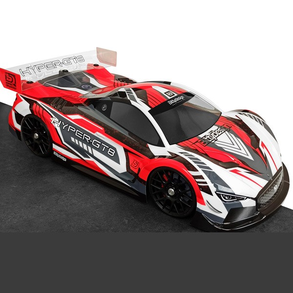 Bittydesign HYPER 1/8 GT Body 325mm wheelbase