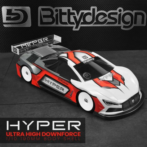 Bitty Design HYPER 190mm TC body Light