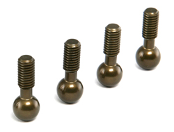 Brilliant RC Aluminium Pivot Ball short 4pcs