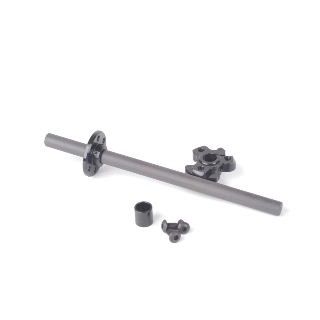 1/12 Carbon Spool Axle and clamp (solid)