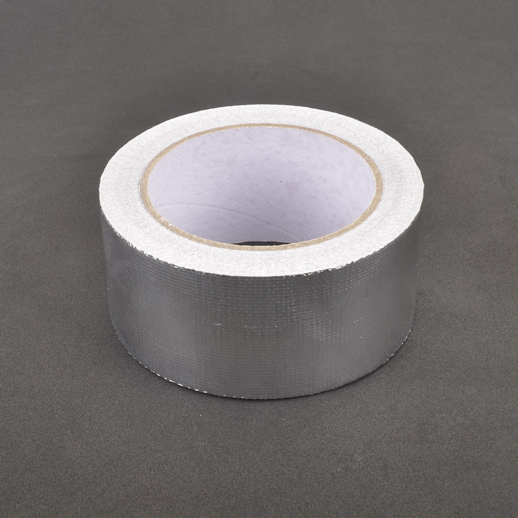 GLASS FIBRE ALUMINIUM TAPE - 50MM X 20 MTRS