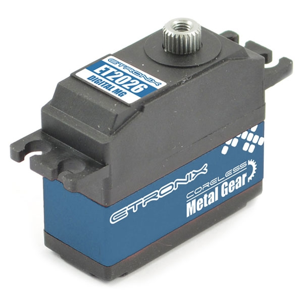 ETRONIX 6.6KG/0.09S MINI DIGI SERVO CORELESS METAL GEAR