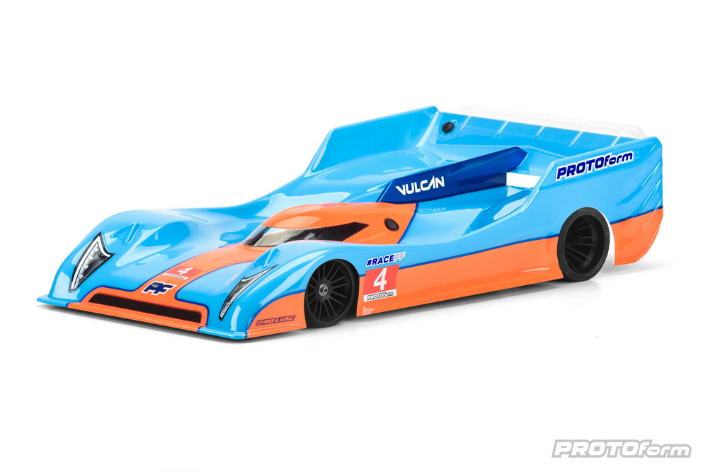 Protoform VULCAN LightWeight 235 P10 Clear Body